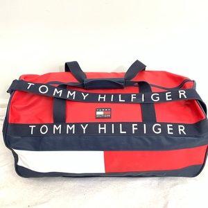 Tommy Hilfiger Classic Shoulder Handle Duffle Bag